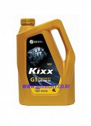 가솔린엔진오일 Kixx G1 4L(SAE5W-30 )