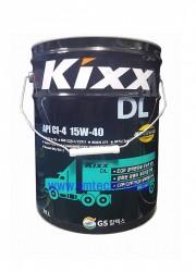 디젤엔진오일 Kixx DL API CI-4/20L(SAE15W-40)