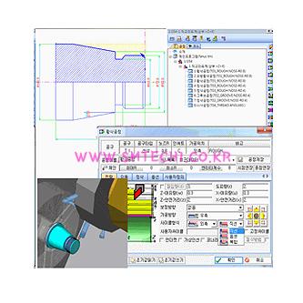 Quick CAD CAM Software 선반
